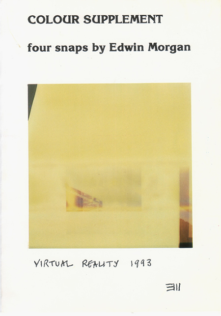 Colour Supplement - Four snaps by Edwin Morgan
