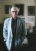 Photograph of Edwin Morgan (c) www.edwinmorgan.com