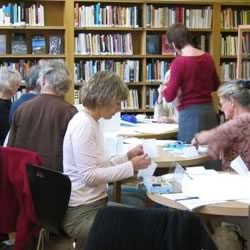 Adult writing workshop at the Scottish Poetry Library